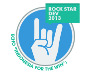 logo rock star dev